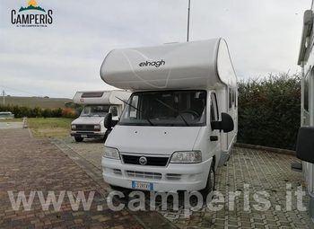 Others-andere Elangh Elnagh Super D 112 Garage Camper  Mansardato Usato