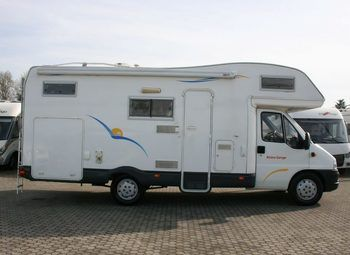 Caravans International Riviera Garage Camper  Mansardato Usato - foto 8
