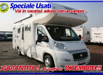 Roller Team Granduca Garage Camper  Mansardato Usato