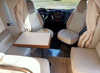 Caravans International Riviera 65 Xt Elite Edition Camper  Parzialmente Integrato Usato - foto 6