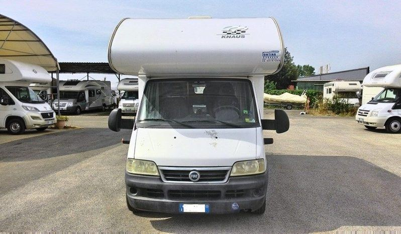 Knaus Sport Traveller 500d Camper  Mansardato Usato