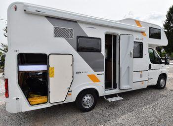 Adria Italia Sunliving Lido A45dk Full Full Camper  Mansardato Usato