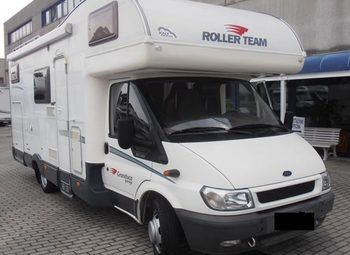 Foto Roller Team Granduca Garage Camper  Mansardato Usato