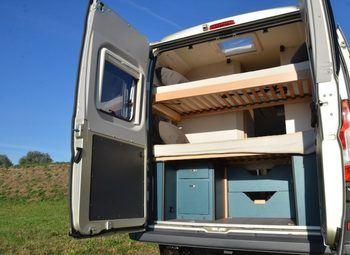 Knaus Box Life 540 Mk Furgonato Con Basculante Camper  Puro Nuovo - foto 8