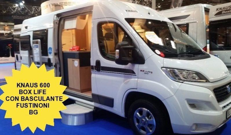 Knaus Box Life 600 Mq Furgonato Con Basculante Ant Camper  Puro Nuovo