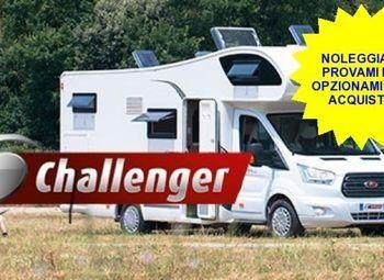 Foto Challenger 266 Genesis C  6 Posti Ford -2016 Usato Ex Nolo Camper  Mansardato Usato