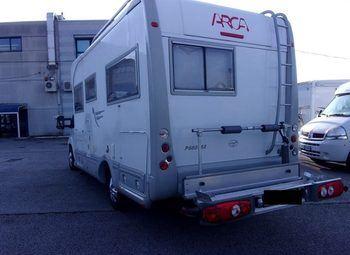 Arca Camper P 680 Lsx Camper  Integrato Usato - foto 2
