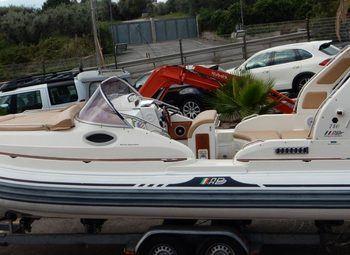 Arca Camper Gommone Battello 730 Carrello Camper  Puro Usato - foto 2