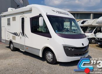 Mobilvetta K-yacht 87 Garage Camper  Motorhome Usato