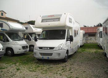 Arca Camper M 720 Glt Camper  Mansardato Usato