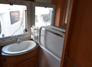 Frankia Luxury Class 820 Camper  Mansardato Usato - foto 10
