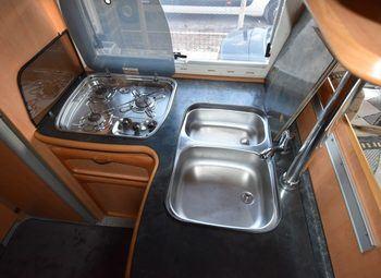 Frankia Luxury Class 820 Camper  Mansardato Usato - foto 14