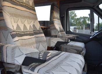 Frankia Luxury Class 820 Camper  Mansardato Usato - foto 18