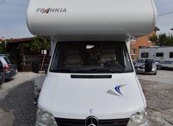 Frankia Luxury Class 820 Camper  Mansardato Usato - foto 3