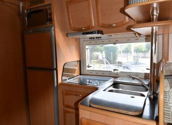 Frankia Luxury Class 820 Camper  Mansardato Usato - foto 5