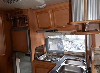 Frankia Luxury Class 820 Camper  Mansardato Usato - foto 9