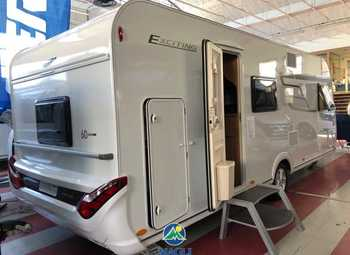 Eriba Hymer Exciting 505 - 60 Edition Camper  Roulotte Nuovo