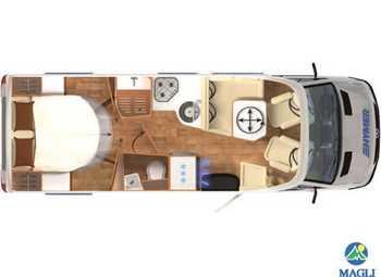 Foto Hymer B-klasse Modern Comfort T B-mc T 690 Camper  Parzialmente Integrato Nuovo