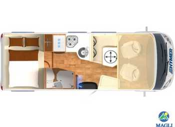 Foto Hymer B-klasse Modern Comfort I B-mc I 550 Camper  Motorhome Nuovo