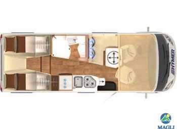 Foto Hymer B-klasse Modern Comfort I B-mc I 580 Camper  Motorhome Nuovo