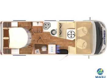 Foto Hymer B-klasse Modern Comfort I B-mc I 690 Camper  Motorhome Nuovo