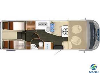 Foto Hymer B-klasse Supreme Line B-sl 704 Camper  Motorhome Nuovo