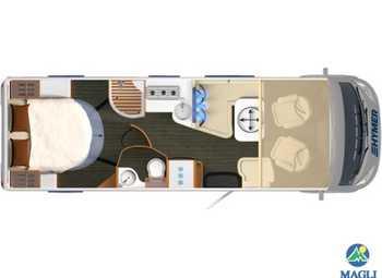 Foto Hymer B-klasse Supreme Line B-sl 708 Camper  Motorhome Nuovo