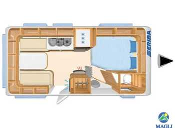 Foto Eriba Hymer Exciting 485 Camper  Roulotte Nuovo