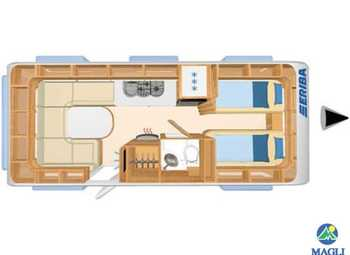 Foto Eriba Hymer Exciting 530 Camper  Roulotte Nuovo