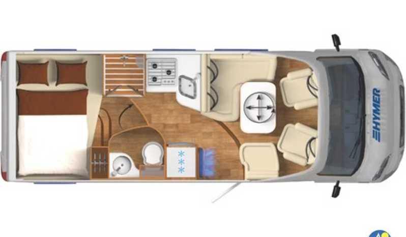 Hymer Exsis T 594 Camper  Parzialmente Integrato Nuovo