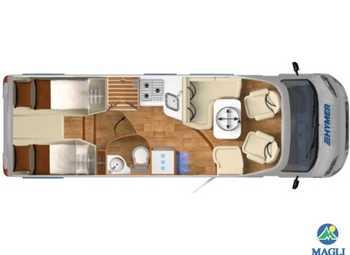 Foto Hymer Exsis T 678 Camper  Parzialmente Integrato Nuovo