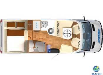 Foto Hymer B-klasse Modern Comfort T B-mc T 550 Camper  Parzialmente Integrato Nuovo