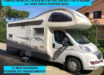 Foto Mobilvetta Kea M73 Camper  Mansardato Usato