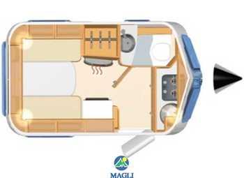 Eriba Hymer Touring Familia 320 Camper  Roulotte Nuovo