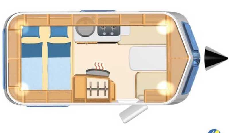 Eriba Hymer Touring Triton 418 Camper  Roulotte Nuovo
