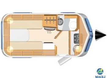 Foto Eriba Hymer Touring Triton 420 Camper  Roulotte Nuovo