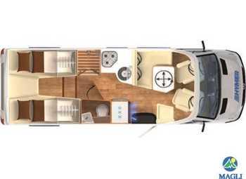 Foto Hymer B-klasse Modern Comfort T B-mc T 680 Camper  Parzialmente Integrato Nuovo