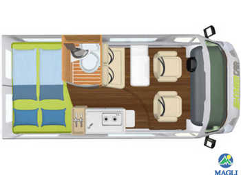 Foto Hymercar Free 540 Camper  Puro Nuovo