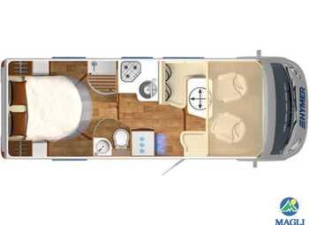 Foto Hymer B-klasse Cl 598 Ambition Camper  Motorhome Nuovo