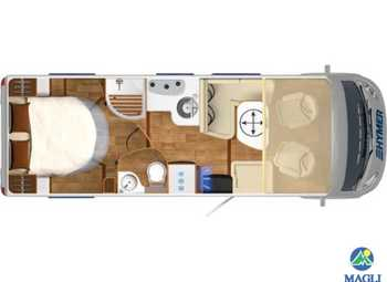 Foto Hymer B-klasse Cl 698 Ambition Camper  Motorhome Nuovo