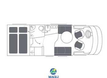 Foto Niesmann&bischoff Smove 2019 Smove 6.9 Q Camper  Parzialmente Integrato Nuovo