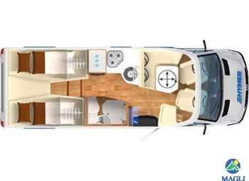 Foto Hymer B-klasse Modern Comfort T B-mc T 600 Camper  Motorhome Nuovo