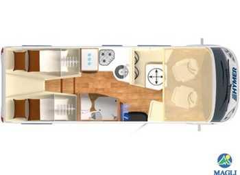 Foto Hymer B-klasse Modern Comfort I B-mc I 600 Camper  Motorhome Nuovo