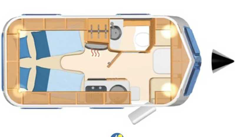Eriba Hymer Touring Troll 542 - 60 Edition Camper  Roulotte Nuovo