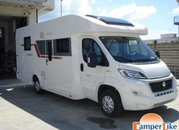 Caravans International Horon 67 Xt Ex Noleggio Camper  Mansardato Usato