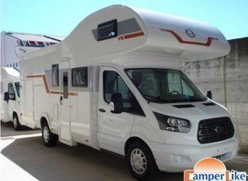 Caravans International Horon 90 M Ex Noleggio Camper  Mansardato Usato