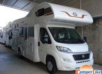 Foto Caravans International Horon 79 M Ex Noleggio Camper  Mansardato Usato