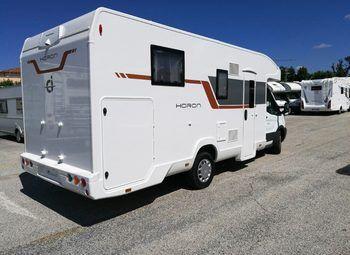 Caravans International Horon 65 Xt Camper  Parzialmente Integrato Nuovo - foto 6