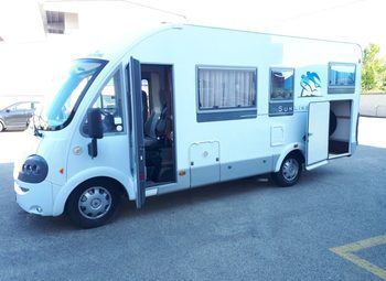 Knaus Motorhome Sun Linear 650 Garage Camper  Motorhome Usato