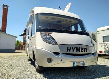 Eriba Hymer Hymer B-504 Cl Motorhome 6 Metri Camper  Integrato Usato